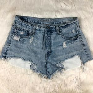 American Eagle Vintage High Rise Jean Shorts